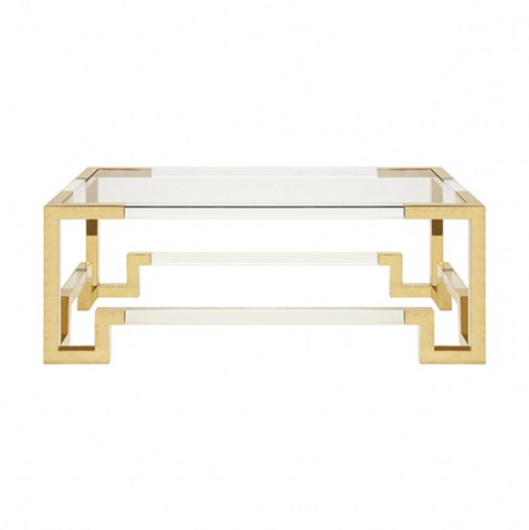 Worlds Away Newman Coffee Table