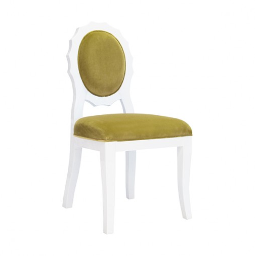 Worlds Away Flora Chair