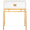 Worlds Away Cayson Side Table