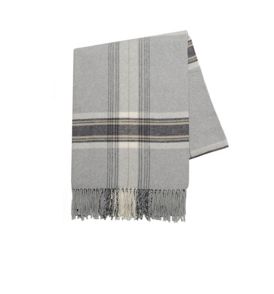 The Week-Ender Italian Plaid Throw