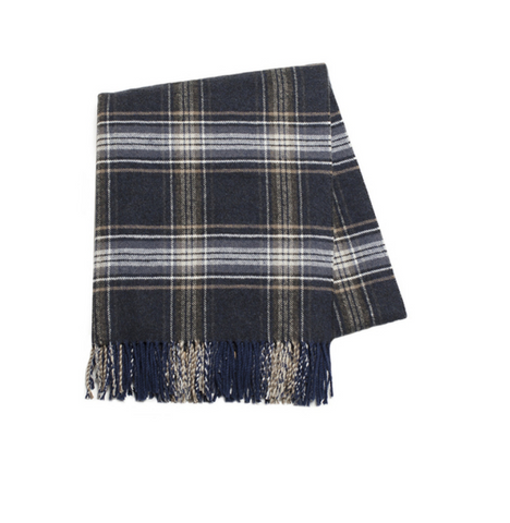 Lakeside Italian Plaid Throw