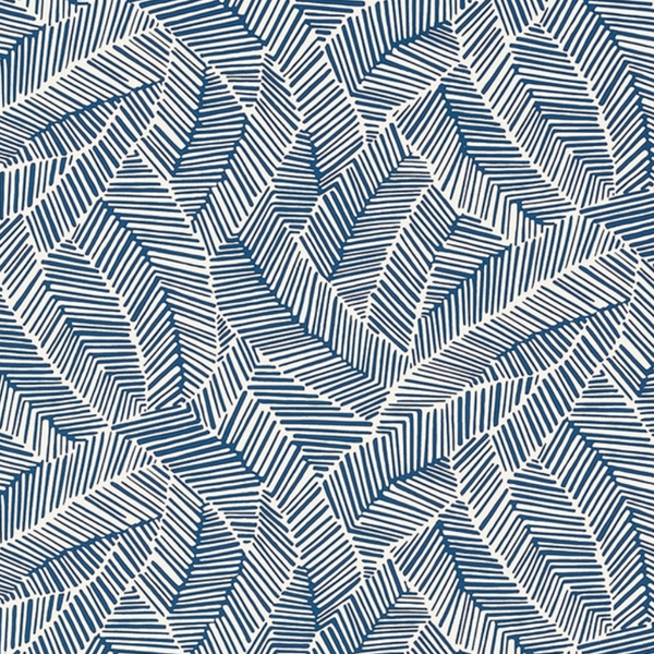 Abstract Leaf Wallpaper by Schumacher