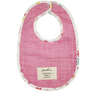 Meadow & Showers Pink Reversible Bibs, Set of 2