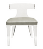 Worlds Away Duke Acrylic Chair