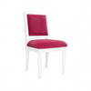 Worlds Away Scarsdale White Lacquer Chair