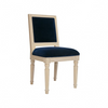 Worlds Away Scarsdale Light Oak Chair