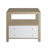 Worlds Away Hattie Side Table