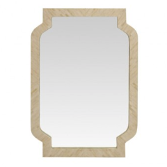 Worlds Away Rosemary Mirror
