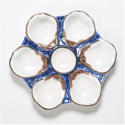 Ceramic Oyster Plate