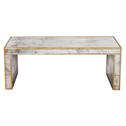 Worlds Away Parsons Coffee Table