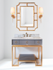 Worlds Away Owen Bath Vanity