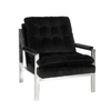 Worlds Away Velvet Cameron Armchair