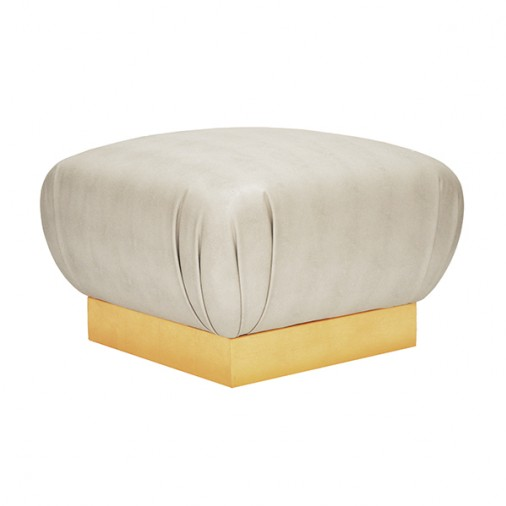Worlds Away Sidney Ottoman