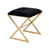 Worlds Away X Side Stool