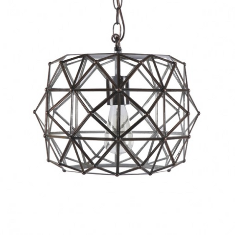 Worlds Away Rozz Pendant 1 Light