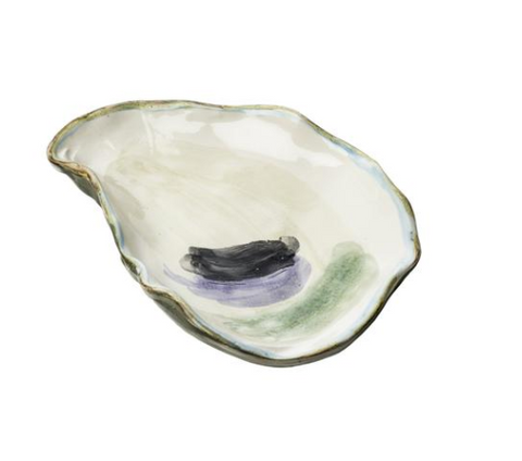 Pastel Oyster Plate