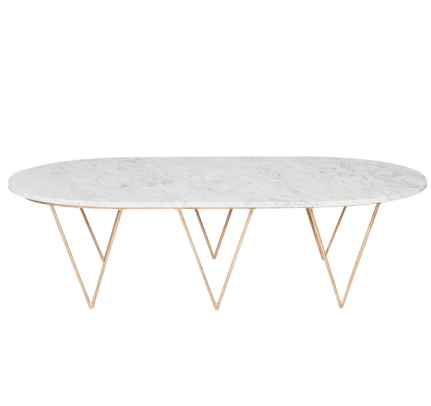 Worlds Away Surf Coffee Table