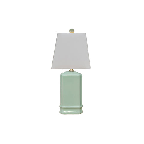 Celadon Mini Square Lamp