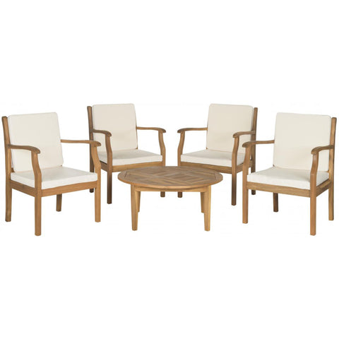 Colfax 5 Piece Coffee Table Set