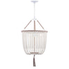 Angie 3 Light Beaded Pendant Lamp
