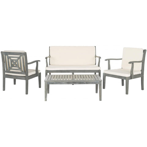 Del Mar 4 Piece Outdoor Set