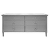 Worlds Away Vincent 6-Drawer Chest