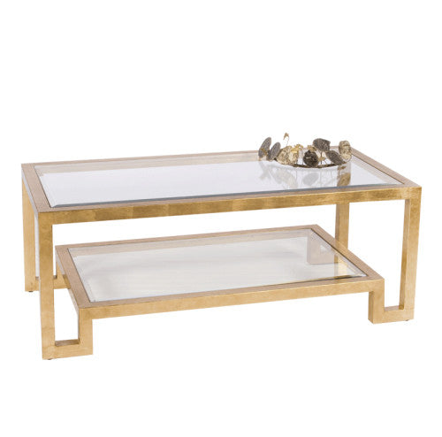Worlds Away Winston Coffee Table