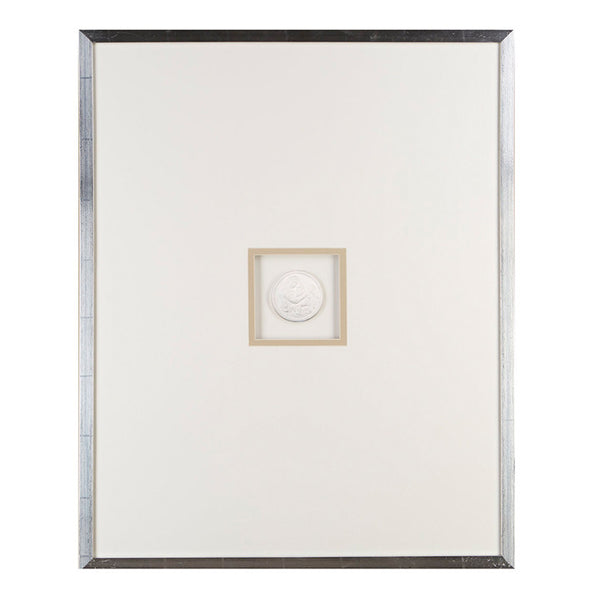 Single Large Intaglios Framed Art