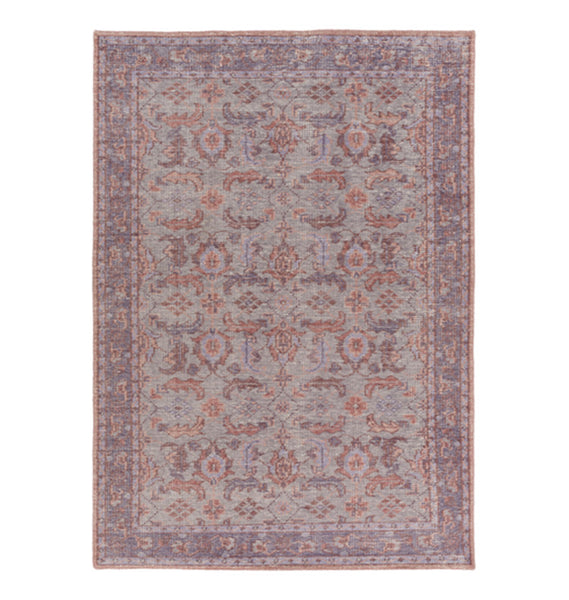 Zahra Purple and Grey Rug