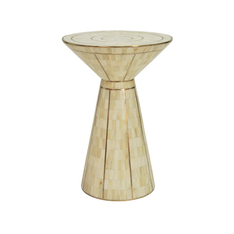 Worlds Away Zuri Side Table