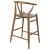 Noir Zola Counter Stool