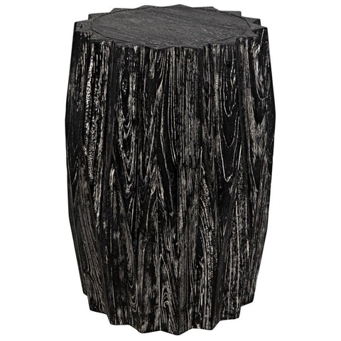 Noir Tamela Stool/Side Table