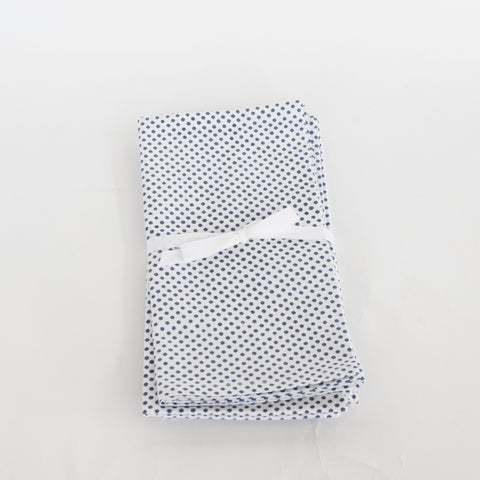 Leo Blue Dot Napkins