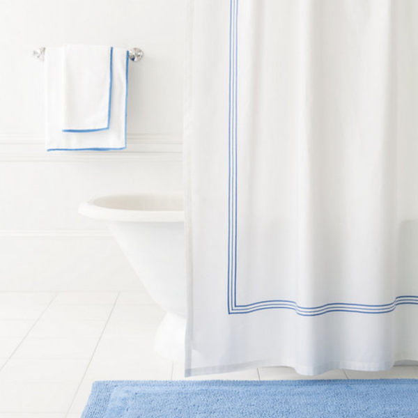 French Blue Shower Curtain