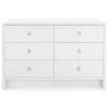 bryant 6 drawer white linen main