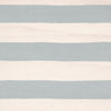 Catamaran Stripe Light Blue and Ivory Indoor/Outdoor Rug