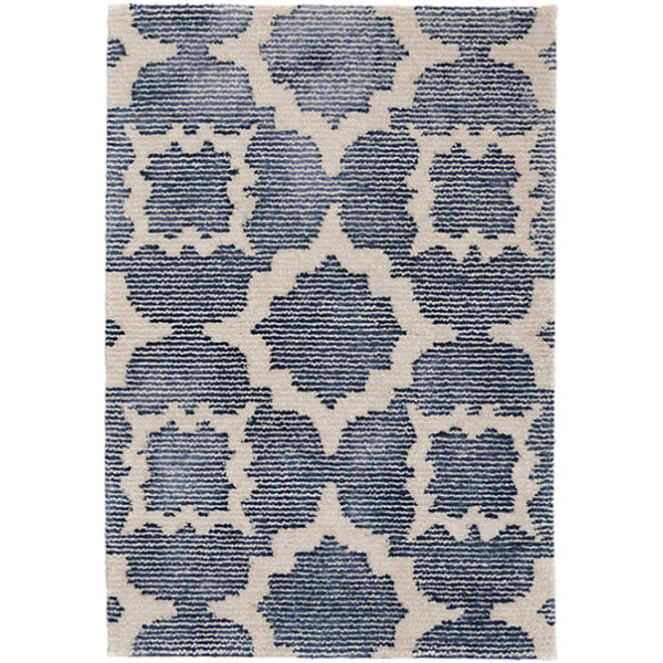 China Blue Hand Knotted Rug