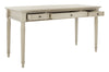 Constance 3 Drawer Desk - Light Beige