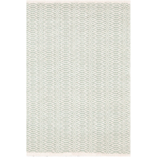 Fair Isle Cotton Woven Rug