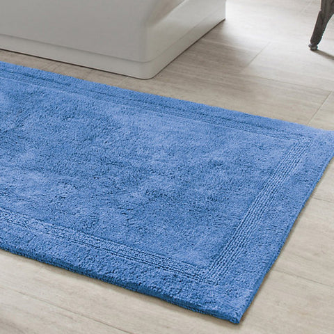 French Blue Bath Rug
