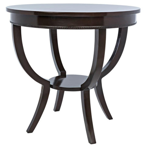 Noir Scheffield Round End Table