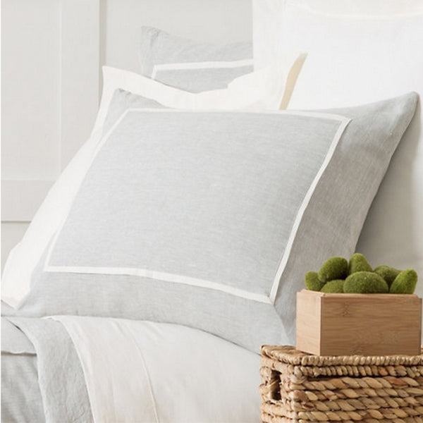 Keaton Linen Sky Pillow Shams