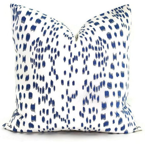 Les Touches Navy Blue Brunschwig & Fil Pillow