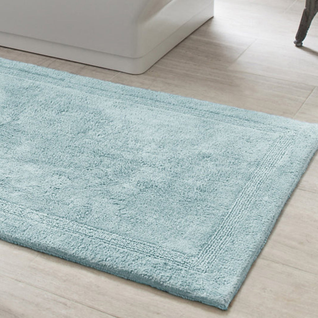 sky blue bath rug – mintwood home