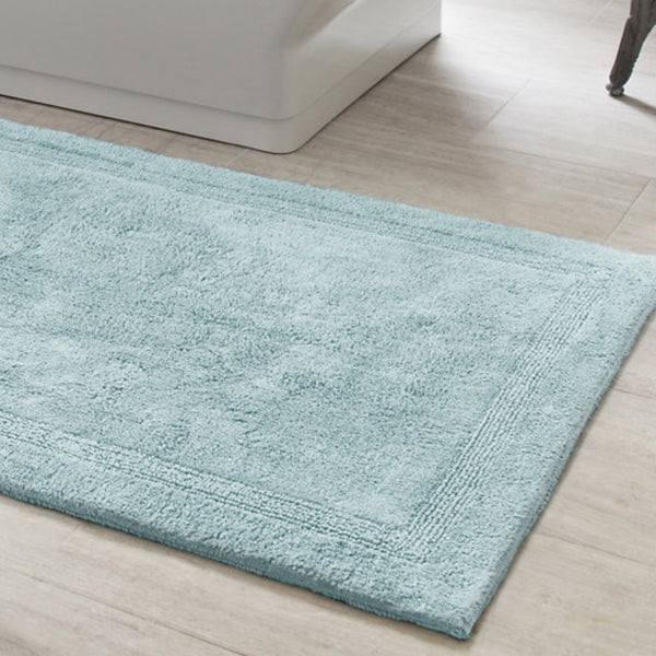 light blue bathroom rugs sky blue bath rug mintwood home 19208