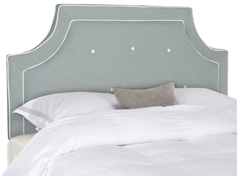 Tallulah Sky Blue & White Headboard