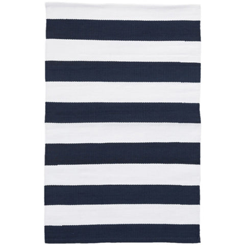 Catamaran Stripe White Indoor/Outdoor Rug