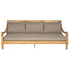 Pasadena Day Bed - Teak Brown/Taupe