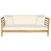Malibu Day Bed - Teak Brown/Beige