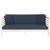 Malibu Day Bed - Antique White/Navy